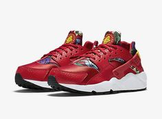 check out 570c7 d8a2a Nike Red Aloha Huarache. http   thesolesupplier.co.