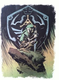 Cool Art: 'The Legend Of Zelda' by Michael Oeming
