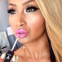 Loveable Lip Gloss by Younique Lip Gloss Colors, Pink Lip Gloss, Makeup Tips, Beauty Makeup, Hair Makeup, Makeup Ideas, Makeup Inspiration, Beautiful Lips, Gorgeous Makeup