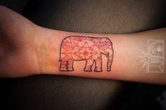 elephant by chris rigoni #arm #forearm #tattoos