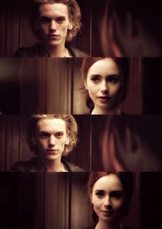 Clary and Jace, screencaps,