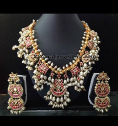 Latest Collection of best Indian Jewellery Designs. Silver Jewellery Indian, Indian Jewellery Design, Latest Jewellery, Temple Jewellery, Silver Jewelry, Jewelry Design, Silver Earrings, Silver Ring, Jewlery