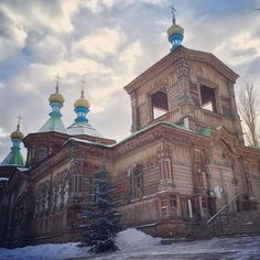 uncornered_marketHoly Trinity Russian Orthodox Cathedral, one of the main landmarks of Karakol, Kyrgyzstan. The city stands as a crossroads of culture and history -- from its beginnings as Russian garrison outpost to the intersection of Turkestan, Central Asia and even Dungan culture of western China. This diversity spills into the town markets, its cuisine and daily life. More on Karakol up on the blog (link in profile).