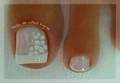 Nail Designs Spring, Toe Nail Designs, Toe Nail Art, Toe Nails, Mani Pedi, Manicure And Pedicure, Beauty Boost, Elegant Nails, Toe Rings