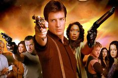 """We watch TV pilots so you don't have to! And this week we watched """"Serenity"""" the pilot of the cult sci fi classic Firefly! Is this pilot hoisted or not, tune in to find out! Firefly Serenity, Serenity Movie, Nathan Fillion, Joss Whedon, Sci Fi Shows, Tv Shows, Disney Now, Sci Fi Series, Blockbuster Movies"""