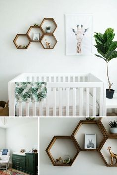 Gender Neutral Modern Nursery After posting a few pics on Instagram of the nursery we put together for the new babe, I got tons of
