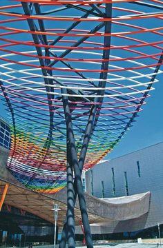 Palacio Ferias y Congresos de Málaga.  http://revista.destinosur.com/contenidos57.php#costasol www.visitacostadelsol.com