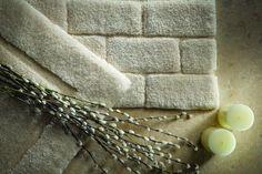 Tapis de salle de bain en fibres de bambou