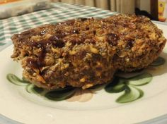 BBQ Bacon Cheeseburger Meatloaf from Food.com  I got this recipe a few years ago off another web site, and this has become my family's favorite meatloaf.