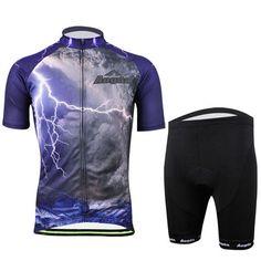 Mens Bicycle Bike Clothing Suit Cycling Cloth Sportswear Bib Shorts