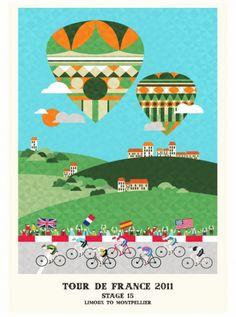 Neil Stevens. El Tour de Francia ilustrado.
