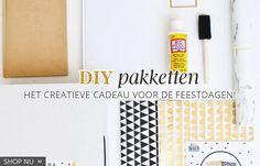 Nieuw! DIY pakketten: het creatieve cadeau voor de feestdagen! http://postenpapier.nl/categorie/doe-het-zelf/diy-pakketten/