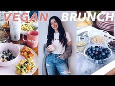 Temporär Monomani: EASY VEGAN BRUNCH RECIPES | how to host a brunch i...