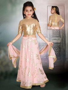 0adf387ac667fc Peach hue raw silk lehenga choli for wedding - G3-GCS0311 | G3fashion.com