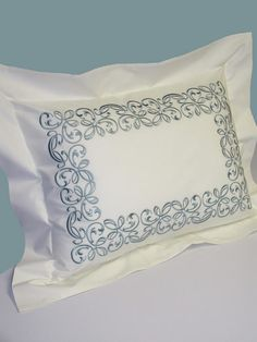 Mystique Embroidered Bed Linens-Duvet Covers-Bed Shams
