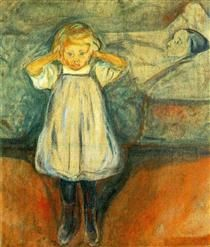 The Dead Mother - Edvard Munch