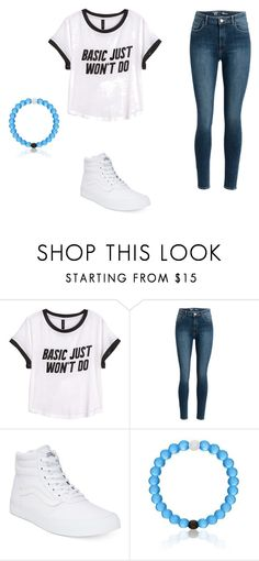 """""""Basic Just Won't do"""" by saramariev ❤ liked on Polyvore featuring H&M and Vans"""