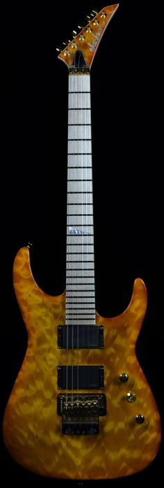 Wild West Guitars : Jackson Dinky DK1 Solar Trans Quilt Top with Walnut Back and Sides