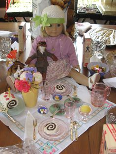 Candy From 1930 | Dishes & glasses that looked vintage from the dollar store.