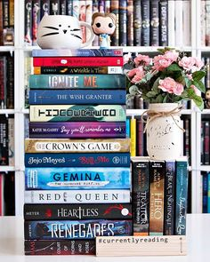 Happy Thursday Bookworms!! And Happy First Day of February as well!! - Qotd: Whats on your February TBR?? - Do you have a TBR list that you follow every month?? I do and its a lifesaver. I have another somewhat overly ambitious TBR for February but Im hoping that my reading mojo from January rolls over to this month and gives me another great reading month. - My February TBR is packed full of new reads new-to-me reads book Im rereading so I can finish its series audiobooks and ebooks…
