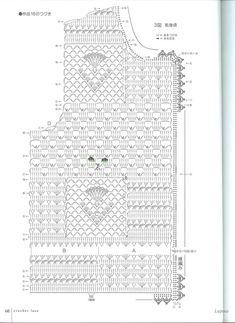 Light Jacket Patterns for crochet Form Crochet, Crochet Jacket, Crochet Diagram, Crochet Blouse, Thread Crochet, Knit Or Crochet, Irish Crochet, Crochet Motif, Crochet Shawl