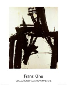 Untitled, 1957 Collectable Print by Franz Kline