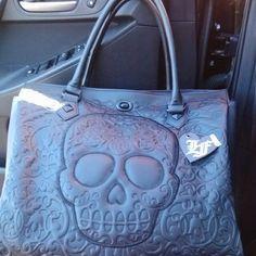 sugar skull purse - Google Search
