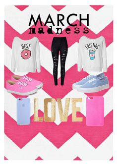 """""""BEST + FRIEND"""" by perla-s-duenas-gonzalez on Polyvore featuring Vans, Forever 21 and PBteen"""