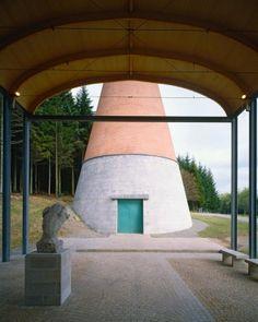 ALDO ROSSI /CONTEMPORARY ART MUSEUM/Lac de Vassivere,France