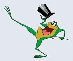 Michigan J. Frog......Hello my honey, hel-lo my ba-by, hello my raaag-time gaaal...