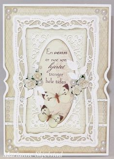 An elegant card by talented Marianne, featuring the A Day in May collection