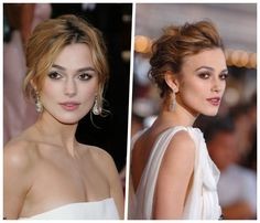 Loose updos: 8 tutorials and over 90 inspiring ideas Loose French Braids, Loose Updo, Loose Braids, Great Hairstyles, Elegant Hairstyles, Curled Hairstyles, Wedding Hairstyles, Kira Knightley, Modern Updo
