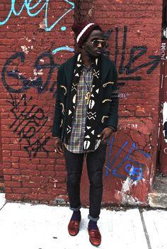 Street Etiquette Tumblr | streetetiquette:K.John new post Africana. Follow him here