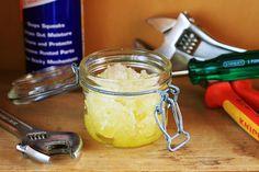 DIY Sugar Scrub: Great for mechanics by www.thingsforboys.com