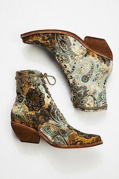 1970er Jahre Hippie Stiefel, groß, braune Lederstiefel, Damen Größe 8,5
