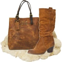 - Great Boots and Bag! -