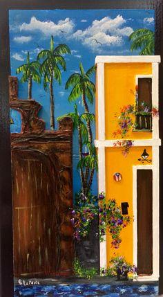 Artesanias de Puerto Rico capilla del Cristo casita del viejo San Juan Puerto Rico art and crafts old San Juan