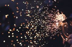 Precision metal cutting services are highly applied to achieve a close cut saw cutting dimension to a certain material specifically suited for any form. Housewarming Party, Bokeh Texture, Ipad Air Wallpaper, Wallpaper Backgrounds, Back To Reality, Metal Tools, Texture Design, Sparklers, Blacksmithing