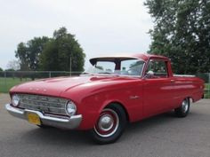 1960-Ford-Ranchero This is an impressive original Arizona truck, straight as an arrow, no rust, and wise investment