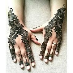 Henna Tattoo Designs Simple, Finger Henna Designs, Back Hand Mehndi Designs, Mehndi Designs Book, Mehndi Designs 2018, Mehndi Designs For Girls, Mehndi Designs For Beginners, Mehndi Design Photos, Mehndi Designs For Fingers