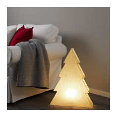 STRÅLA Table decoration with LED bulb IKEA Gives a warm, cozy glow and spreads the holiday atmosphere in your home. Gives a soft mood light.