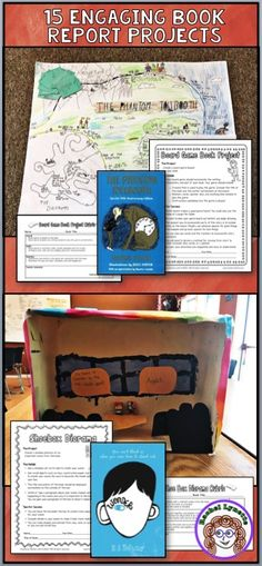 15 Ready-to-Use Creative Book Projects! Student instructions and grading rubrics included. Great for independent reading, literatures circles, reading workshop etc.