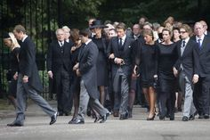 Dutch Royal Family, Prince Friso's funeral.  August 16, 2013