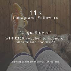 A very good Monday morning to you all - we still have a few days left our competition to run.... For the chance to win 250 to spend on S/S'16 footwear and shorts from our good selves: Follow us Repost the above image Tag a friend Use the hashtag #browneonyourluck  Winner drawn on 2nd May - best of luck! #competition #philipbrownemenswear