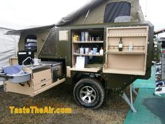 Off-Road Camping Trailers | ... area of the smaller version of these camper trailers on steroids