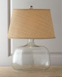 Regina-Andrew Design Seeded Glass Table Lamp - Horchow