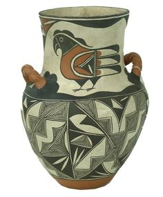 Acoma Pottery Jar- John & Darla Davis