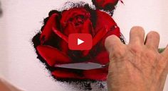 Watch this palette knife painting demonstration