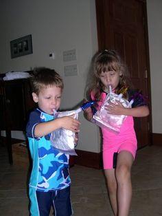 Wee Gillis - simple homemade bagpipe instructions.  Super fun!!!  LibertyHillHouse.com