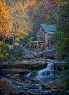 mill at Babcock State Park, WV.